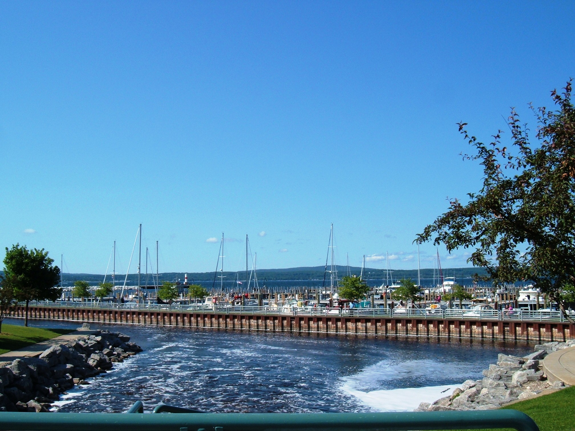 Bear River in Petoskey